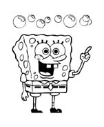Spongebob da colorare 112
