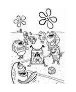 Spongebob da colorare 123