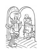 Spongebob da colorare 136