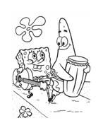 Spongebob da colorare 140