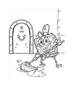 Spongebob da colorare 153