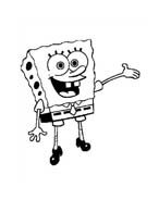 Spongebob da colorare 154