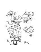 Spongebob da colorare 162
