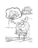 Spongebob da colorare 174