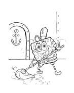 Spongebob da colorare 178