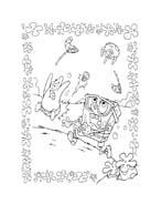 Spongebob da colorare 198