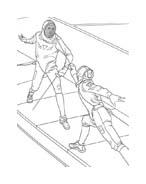 Sport misto da colorare 166