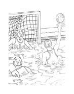 Sport misto da colorare 170