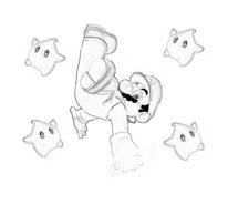 Mario bros da colorare 64
