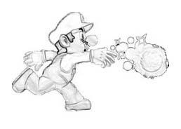 Mario bros da colorare 67