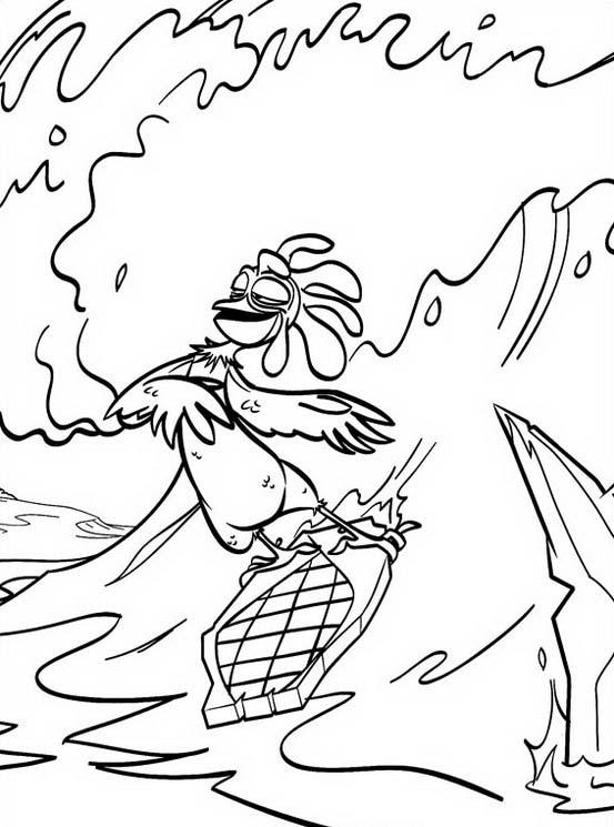 Surf up da colorare 40