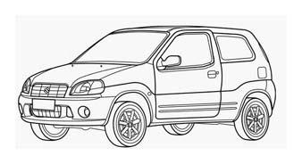 Automobile da colorare 409