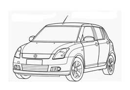 Automobile da colorare 410