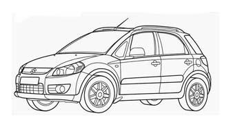 Automobile da colorare 411