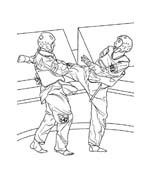 Judo da colorare 47