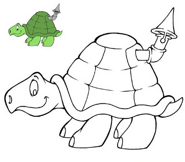 Tartaruga da colorare 19