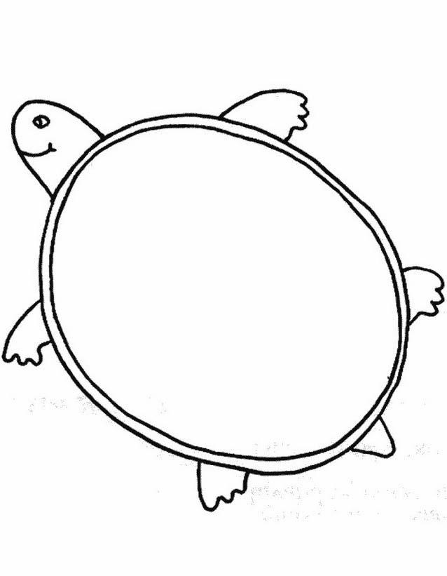 Tartaruga da colorare 25