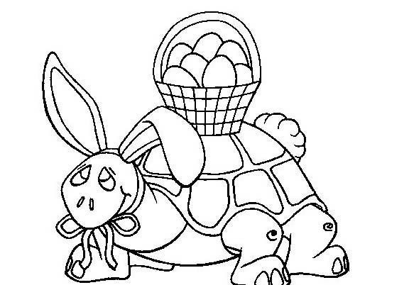 Tartaruga da colorare 27