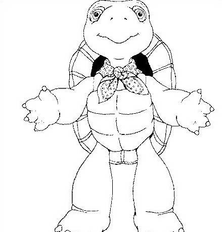 Tartaruga da colorare 56
