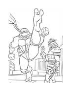 Tartarughe ninja da colorare 2