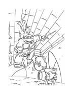Tartarughe ninja da colorare 3