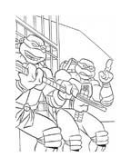 Tartarughe ninja da colorare 6