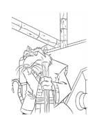 Tartarughe ninja da colorare 10