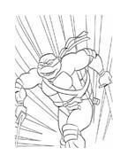 Tartarughe ninja da colorare 18