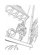 Tartarughe ninja da colorare 20