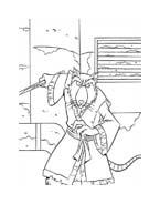 Tartarughe ninja da colorare 23