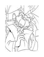 Tartarughe ninja da colorare 29