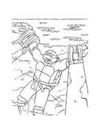 Tartarughe ninja da colorare 31