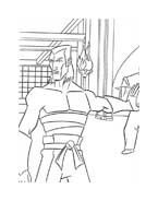 Tartarughe ninja da colorare 34