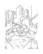 Tartarughe ninja da colorare 35