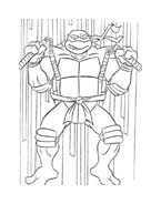 Tartarughe ninja da colorare 38