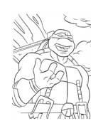 Tartarughe ninja da colorare 42