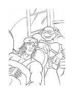Tartarughe ninja da colorare 45