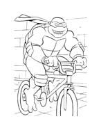 Tartarughe ninja da colorare 56