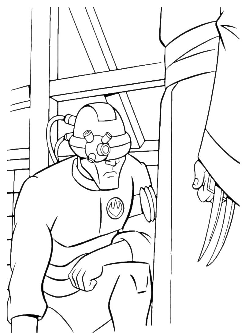 Tartarughe ninja da colorare 61