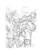 Tartarughe ninja da colorare 65