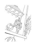 Tartarughe ninja da colorare 69