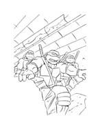 Tartarughe ninja da colorare 74
