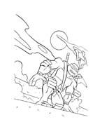 Tartarughe ninja da colorare 79