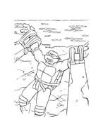 Tartarughe ninja da colorare 80