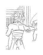 Tartarughe ninja da colorare 83