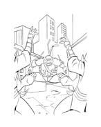 Tartarughe ninja da colorare 84