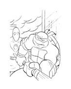Tartarughe ninja da colorare 86