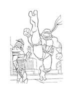 Tartarughe ninja da colorare 87