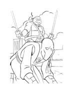 Tartarughe ninja da colorare 88