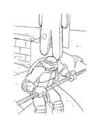 Tartarughe ninja da colorare 105